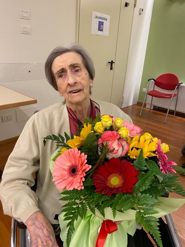Giuseppina compie 100 anni